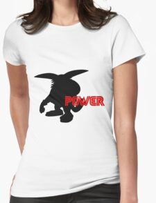 Power Type: Big Womens Fitted T-Shirt
