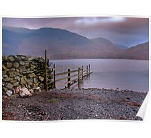The Fence - Buttermere Poster