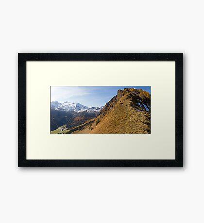 At the Edge Framed Print