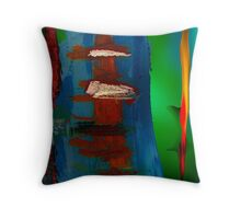 Artistic in the blur 3 Throw Pillow