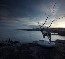 Dreaming To Be Free At Dusk by MiImages