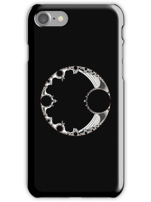 26-09-2010-003 Black iPhone Case by Rupert Russell