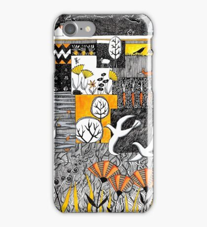 Who is lurking in my allotment? iPhone Case/Skin