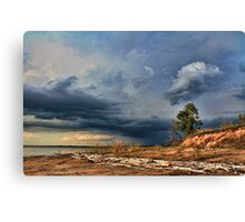 Super Clouds Canvas Print