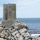 Old Light House at Betty's Bay by Pieta Pieterse