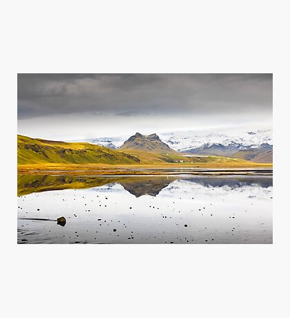 Views from the Causeway to Dyrholeay, Iceland Photographic Print