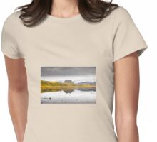 Views from the Causeway to Dyrholeay, Iceland Womens Fitted T-Shirt