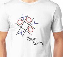 Noughts & Crosses (Tic-tac-toe) (Black Text) Unisex T-Shirt