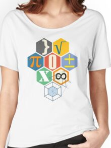 Math in black! Women's Relaxed Fit T-Shirt