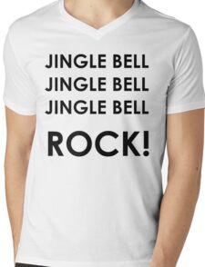 Jingle Bell Rock Mens V-Neck T-Shirt