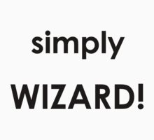 Simply Wizard One Piece - Short Sleeve