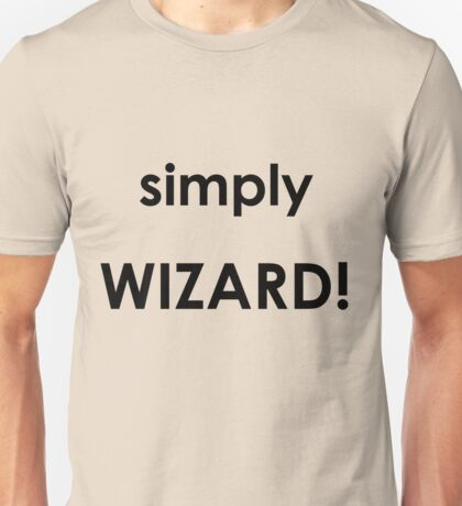 Simply Wizard Unisex T-Shirt