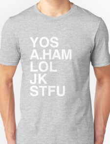 Your Obedient Servant, A.Ham Unisex T-Shirt