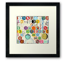 MATH! Framed Print