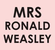 Mrs Ronald Weasley by green10