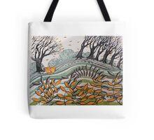 Windy woods Tote Bag