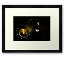 The Search For New Life Has Begun Framed Print