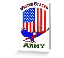 Uniter States Army Greeting Card