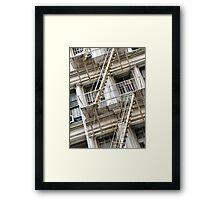 Mercer Street Framed Print
