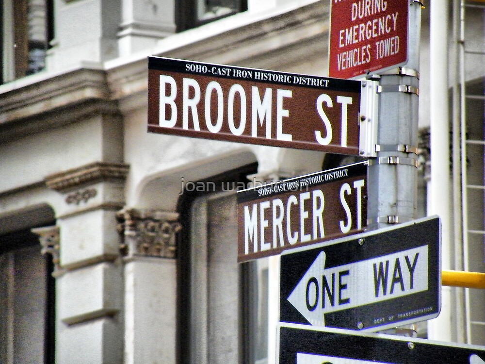 Broome and Mercer by joan warburton