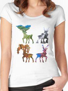 Seasonal sawsbuck Women's Fitted Scoop T-Shirt