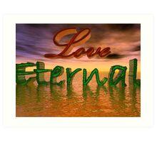 Love Eternal Art Print