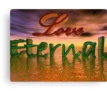 Love Eternal Canvas Print