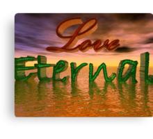 Love Eternal Canvas Print