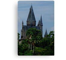 Harry Potter Castle Canvas Print