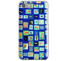 Fish Quilt iPhone Case/Skin