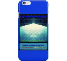 Distracted Masses Vol. 1 Issue #3 iPhone Case/Skin