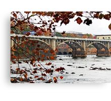 Columbia on the Congaree Canvas Print