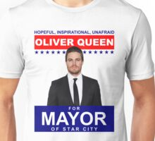 Oliver Queen For Mayor of Star City - Poster Design Unisex T-Shirt