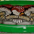 Eagle Surfboard Sign by Levi Moodie