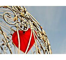 Heart prisoner Photographic Print