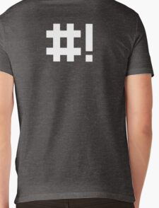 #! Mens V-Neck T-Shirt