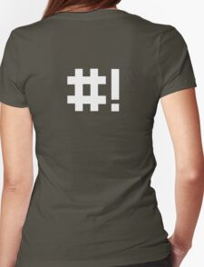 #! Womens Fitted T-Shirt