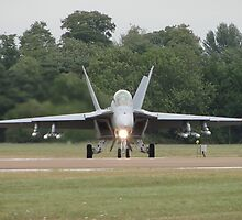 Super Hornet by Barrie Woodward