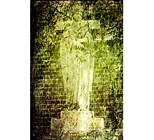 Angel Green Photographic Print