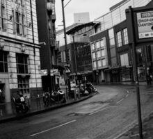 Manchester Round the corner  Sticker