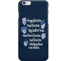 Angry Doctor iPhone Case/Skin