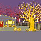 October Neighborhood by Meredith Nolan