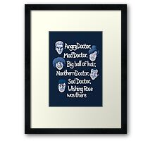 Angry Doctor Framed Print