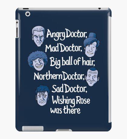 Angry Doctor iPad Case/Skin