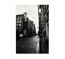 Manchester Streets II Art Print