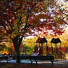 Autumn At The Park by Mistyarts