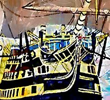HMS Victory iPhone by Dennis Melling