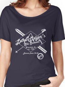 Lane Meyer Ski School Dark Women's Relaxed Fit T-Shirt