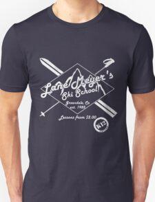 Lane Meyer Ski School Dark Unisex T-Shirt