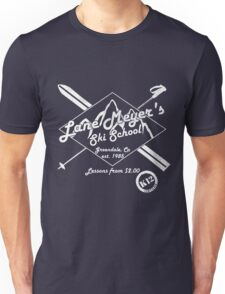 Lane Meyer Ski School Dark Unisex T-Shirt
